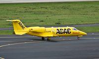 D-CURE @ EDDL - ADAC Luftrettung, is here taxiing at Düsseldorf Int'l(EDDL) - by A. Gendorf