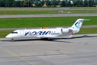 S5-AAD @ LSZH - Canadair CRJ-200LR [7166] (Adria Airways) Zurich~HB 22/07/2004 - by Ray Barber