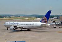 N68160 @ LSZH - Boeing 767-224ER [30439] (Continental Airlines) Zurich~HB 22/07/2004
