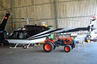 HB-ZEB @ LSZL - Bell 206B-3 Jet Ranger III [2959] Locarno~HB 21/07/2004