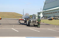 81-5344 @ RJSM - 81-5344 arrives at the Misawa Aviation & Science Museum. - by 35th Fighter Wing Historian