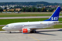 LN-RPZ @ LSZH - Boeing 737-683 [28293] (SAS Scandinavian Airlines) Zurich~HB 22/07/2004 - by Ray Barber
