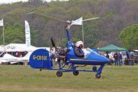 G-CBNX @ EGHP - Bensen B.8MR [PFA G/01A-1345] Popham~G 05/05/2007