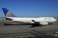N199UA @ KSFO - At San Francisco - by Micha Lueck