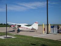 N6263M @ FBY - Business Travelers Utilize Fairbury Airport - by Julie Lambert