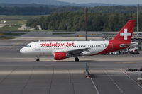 HB-JOH @ LSZH - Taxying at Zurich - by alanh