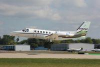 N189VP @ KOSH - Cessna 550