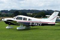 G-RAZY @ EGBO - @ Halfpenny Green. EX:-G-REXS,N8093Y. - by Paul Massey