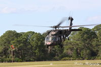 88-26018 @ X36 - US Army UH-60 Blackhawk (88-26018) performs a touch and go at Buchan Airport - by Donten Photography