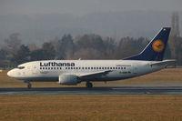 D-ABIN @ LOWG - Lufthansa B737-500 @ GRZ - by Stefan Mager