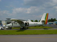 6V-AFF @ ELLX - I think it was in Luxembourg for avionics refit at CAE - by EF0048