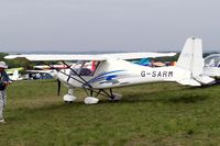 G-SARM @ EGHP - Comco Ikarus C-42 Cyclone FB100 [0504-6674] Popham~G 05/05/2007 - by Ray Barber
