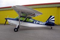LX-MAT @ ELLX - outside hangar in LUX - by EF0048