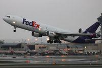 N521FE @ LAX - Fed Ex