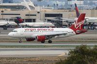 N524VA @ KLAX - Virgin America
