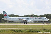 C-FGKZ @ KRSW - Air Canada Flight 1235 (C-FGKZ) departs Southwest Florida International Airport enroute to Toronto-Pearson International Airport - by Donten Photography