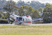 C-FNTR @ YMAY - Great Slave Helicopters (C-FNTR) Bell 205B, operated by Jayrow Helicopters as Helitack 237, at Albury Airport - by YSWG-photography