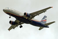VQ-BKU @ EGLL - Airbus A320-214 [4835] (Aeroflot Russian Airlines) Home~G 20/07/2012. On approach 27R.