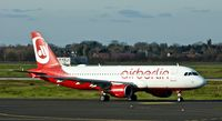 D-ABDW @ EDDL - Air Berlin, is here on taxiway M at Düsseldorf Int'l(EDDL) - by A. Gendorf