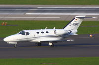 D-IEMG @ EDDL - Private Aircraft Arriving - by Günter Reichwein