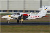 D-GAAB @ EDDR - Piper PA-34-200T - by Jerzy Maciaszek