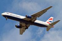 G-BNWA @ EGLL - Boeing 767-336ER [24333] (British Airways) Home~G 22/08/2009. On approach 27R.