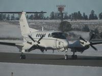 84-0176 @ KBIL - USAF C-12 Huron - by Daniel Ihde