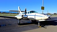 N9488C @ KRHV - Davis, CA-based 1982 Cessna T303 parked on the visitor's ramp at Reid Hillview Airport, San Jose, CA. - by SJCSpotter