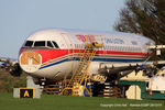N303SF @ EGBP - ex B-2332 China Eastern Airlines in the scrapping area at Kemble - by Chris Hall