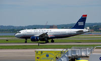 N732US @ KDCA - Landing roll National - by Ronald Barker