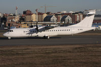 SE-MKA @ BMA - All white before the new colours of BRA Braathens Regional Airlines.