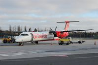D-ABQE @ EDDT - One of still a handfull DASH 8 operated by AirBerlin..... - by Holger Zengler