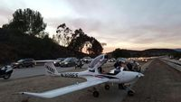 N309EF - After forced landing  on 23 Freeway in Ventura County - by Matt Hamilton