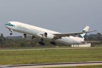 B-KPS @ EDDL - Taking off - by Günter Reichwein