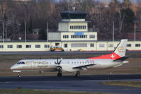 HB-IZJ @ EDDT - From ZRH down on rwy 26L... - by Holger Zengler
