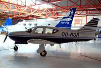 OO-MOM @ EBAW - Rockwell Commander 114B [14615] Antwerp-Deurne~OO 11/08/2010