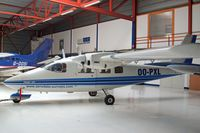 OO-PXL @ EBAW - Partenavia P.68C-TC [245-08-TC] (Aerodata International Surveys) Antwerp-Deurne~OO 11/08/2010