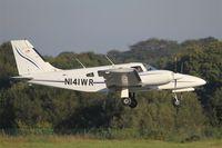 N141WR @ LFRB - Piper PA-34-220T, On final rwy 07R, Brest-Bretagne airport (LFRB-BES) - by Yves-Q