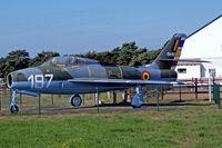 FU-197 @ EBKH - Republic F-84F Thunderstreak [Unknown] Balen-Keiheuvel~OO 12/08/2010 - by Ray Barber