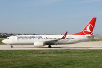 TC-JGO @ LMML - B737-800 TC-JGO Turkish Airlines - by Raymond Zammit