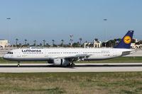 D-AIDH @ LMML - A321 D-AIDH Lufthansa - by Raymond Zammit