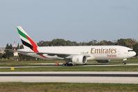 A6-EFI @ LMML - B777 A6-EFI Emirates Cargo - by Raymond Zammit