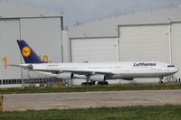 D-AIGU @ LMML - A340 D-AIGU Lufthansa - by Raymond Zammit
