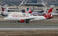 N638VA @ LAX - Virgin America