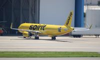 N658NK @ TPA - Spirit prior to delivery
