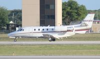 N693QS @ ORL - Net Jets - by Florida Metal