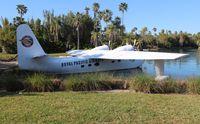 N693S - HU-16D Albatross near Universal Orlando
