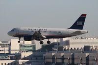 N715UW @ MIA - US Airways A319