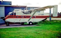 LX-UGO @ LUX - Luxsenbourg 2.6.92. Aircraft crashed 2.12.93 in Liberia - by leo larsen
