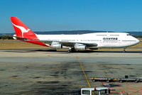 VH-EBT @ YPPH - Boeing 747-338 [23222] (QANTAS) Perth-International~VH 29/03/2007